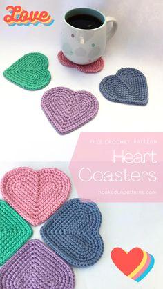 Crochet Simple, Easy Crochet Patterns, Doily Patterns, Crochet Coaster Pattern Free, Crochet Ideas To Sell, Free Pattern, Macrame Patterns, Crochet Amigurumi, Crochet Yarn