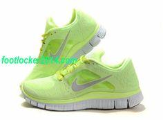 9b197f016a776 Nike Free Run 3 Womens - Liquid Lime Reflective Silver White Women 510643  300