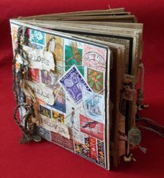 Paper bag journal. Easy to follow tutorial, love it, I'm going to try this one! ~MG