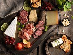 Delight guests at your next gathering with a gourmet spread featuring a variety of Boar's Head charcuterie and cheeses. It's a tasty array of simple-yet-sophisticated flavors that are guaranteed to please.