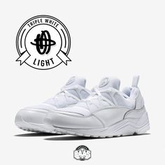 "#nike #air #huarache #huarachelight #airhuarache #niketriplewhite #huarachewhite #sneakerbaas #baasbovenbaas  Nike Air Huarache Light ""Triple White"" - Now available - Priced at 129.95 Euro  For more info about your order please send an e-mail to webshop #sneakerbaas.com!"