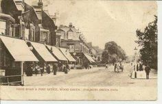 High Road & post office - Wood Green (Palmers Green end) North London, Old London, High Road, Local History, Post Office, Past, Childhood, Memories, Wood