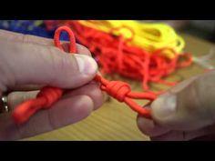 Ukulele Hangers Paracord Ukulele Wall Hangers - YouTube