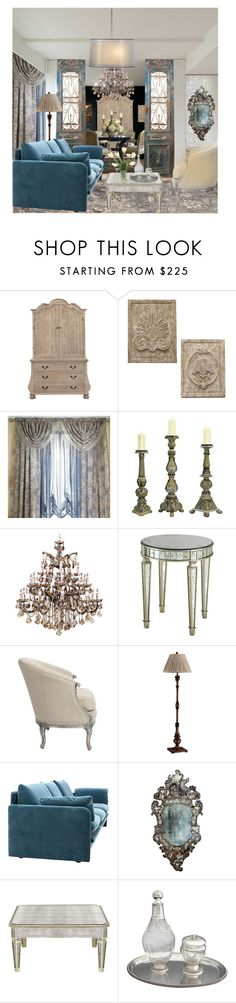 """""""Untitled #571"""" by deb666 ❤ liked on Polyvore featuring interior, interiors, interior design, home, home decor, interior decorating, WALL, Sterling, Neiman Marcus and Aidan Gray"""