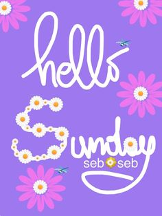 Hello Sunday Hello Sunday, Happy Sunday, Weekend Days, Good Morning Flowers, Good Morning Greetings, Cheers, Boss, Bling, Inspirational