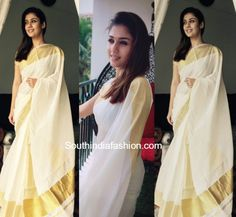 Nayanthara saree looks are always simple and elegant. Take a look at 10 best saree looks of Nayanthara and her blouse designs, styling tips