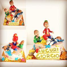 Alvin and the Chipmunks Cake!! Alvinnnnnnnn!!!