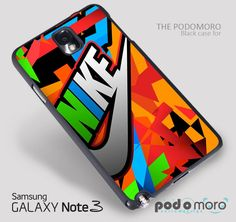 Nike Graffiti colorful for iPhone 4/4S, iPhone 5/5S, iPhone 5c, iPhone 6, iPhone 6 Plus, iPod 4, iPod 5, Samsung Galaxy S3, Galaxy S4, Galaxy S5, Galaxy S6, Samsung Galaxy Note 3, Galaxy Note 4, Phone Case