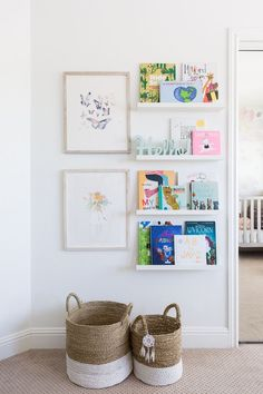 Little Girls Room + Kids Playroom: California Traditional — Lindsey Brooke Design We are wrapping up our latest project with the sweetest ever spaces. From a floral filled nursery to little girl's boho dream room and a playroom too, the kids rooms are a… Girls Bedroom, Bedroom Decor, Ikea Girls Room, Girls Room Wall Decor, Playroom Decor, Playroom Ideas, Bedroom Furniture, Boy Room, Room Kids