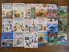 This is a nice lot of 18 DK Eyewitness and Eye Wonder books! There are 15 hardcovers and 3 paperbacks, all of which are in very good, used condition. There is no writing in these books but a few have light cover wear. | eBay!