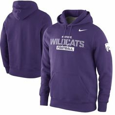 da1196a6dac6 Kansas State Wildcats Practice Classic Hoodie - Purple