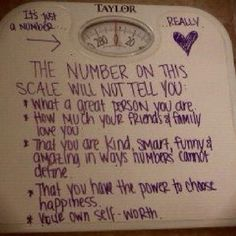 This is a great blog post about scale weight, biology, and size diversity. While it was written for people with PCOS, the science is the same for everyone.