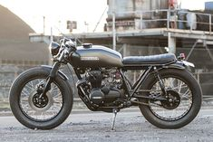 1975 Honda CB400F by Salty Speed Co.
