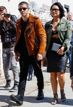 Tour buddies: On Tuesday, Demi Lovato and Nick Jonas were quite the dynamic duo as they made their way to the Honda Civic event in New York, where it was announced that they will hit the road with one another again