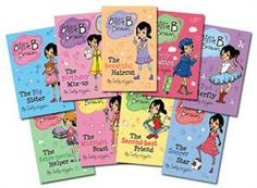 Billie B. Brown is an AWESOME beginner chapter book series!  Billie is a tomboy and her best friend is Jack...he has his own series of books too!  Order from www.goodusbornereads.com