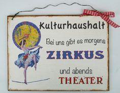 Türschild Humor von Un-Art-Tick auf DaWanda.com