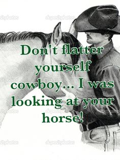 awesome horse and cowboy quote