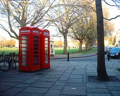 The phone boxes on the corner ot Richmond Green by Twickermum on Flickr Richmond Green, Richmond Upon Thames, My Little Corner, Beautiful Streets, Surrey, Britain, Boxes, England, World