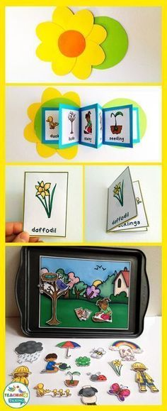 Try these fun Spring vocabulary activities for kids!