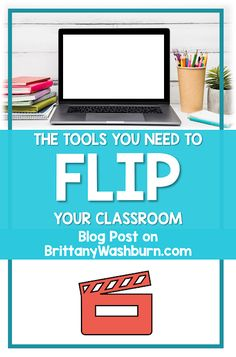 Technology Teaching Resources with Brittany Washburn: The Tools you Need to Flip Your Classroom Classroom Tools, Flipped Classroom, Classroom Behavior, Mastery Learning, Problem Based Learning, Teaching Tools, Teaching Resources, Flip Teaching, Instructional Technology