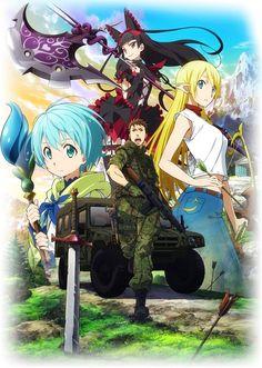 El Anime Gate: Jieitai Kanochi nite, Kaku Tatakaeri se estrenará en Julio y revela vídeo promocional.