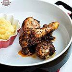 Kurczak z suszonymi śliwkami