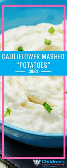 Depending on you and your child's meal plan, some Thanksgiving classics may be out of reach — like mashed potatoes. Try this instead!