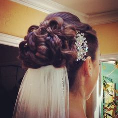 Bride Shannon hair and makeup #airbrushmakeup #bridalhair #bridalmakeup #lisaleming http://lisaleming.com/bridal-gallery/
