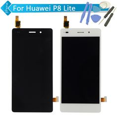 5 inch For Huawei P8 Lite LCD Display Touch Screen Digitizer Assembly;  Black / White Color +Tools