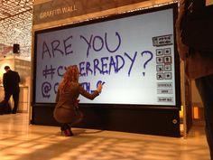 Digital Graffiti Wall - Virtual Graffiti Wall | London| UK www.contrabandevents.com
