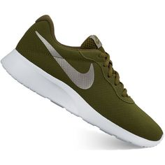 1b42a72941a1 Nike Tanjun Women s Athletic Shoes (£51) ❤ liked on Polyvore featuring  shoes