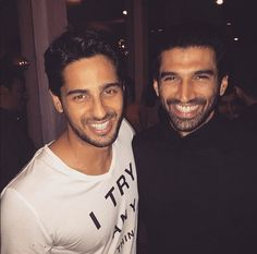 Sidharth Malhotra and Aditya Roy Kapoor