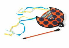 Amazon.com : Lucky Ladybug Flyer : Kites : Toys & Games