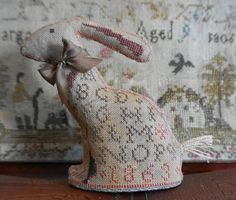 Cross Stitch Charts, Cross Stitch Designs, Cross Stitch Finishing, Primitive, Needlework, Burlap, Reusable Tote Bags, Embroidery, Pattern