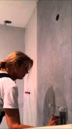 Betonlook zelf aanbrengen of laten aanbrengen Exterior Design, Interior And Exterior, Industrial Interiors, Applique, Concrete, Diy And Crafts, Bathrooms, Tutorials, Future