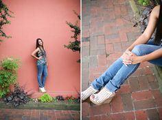 urban styled senior pictures