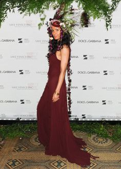 Padma Lakshmi at the Save Venice gala.