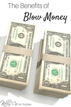 "What is ""Blow Money?"" It's a Dave Ramsey concept that means you get money to do whatever you want with! Who wouldn't want that when it come to budgeting? Check out how it works and learn the benefits too!"