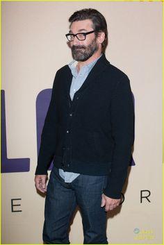 Jon Hamm Brings His Beard to 'Million Dollar Arm' Screening | jon hamm million dollar arm gala screening 10 - Photo