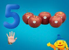 Rekenprikkels - 5 appels