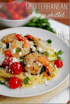 #Recipe / Mediterranean Shrimp Skillet   MBSIB:  The Man With The Golden Tongs   Scoop.it