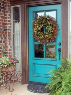 .Sw Nifty Turquoise....color of my old front door
