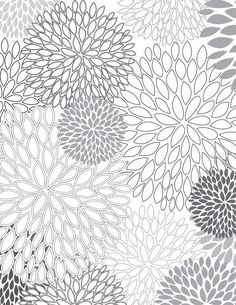 Looking for some fun, free, hip coloring pages? Make your own coloring book with these trendy, free coloring sheets! Adult Coloring Pages, Colouring Pages, Printable Coloring Pages, Free Coloring, Coloring Sheets, Coloring Books, Stencil, Mandala Coloring, Doodle Art