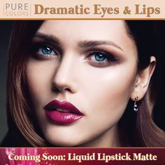 Dramatic eyes and lips! Is everyone ready for New Years Eye? Take a look at our selection and purchase one today! http://www.purecolorsinc.com/liquid-lip-gloss/ ‪#‎nye‬ ‪#‎purecolors‬ ‪#‎fabulouslips‬ ‪#‎amazingeyes‬