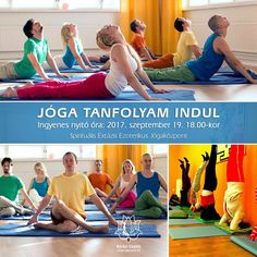 Jóga tanfolyam indul. Ingyenes nyitó óra: 2017. szeptember 19. 18:00. A tanfolyam a továbbiakban keddenként 18:30-tól lesz. Győr, Kisfaludy utca 2. www.tantra-yoga-gyor.hu https://www.facebook.com/tantra.yoga.gyor #Tradicionális #jóga #yoga #hatha #tantra #integrál #meditáció #önismeret #felszabadulás #megvilágosodás #Győr #önfejlesztés