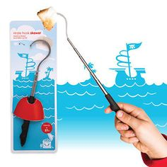 Skewers for pirates who like to eat toasted marshmallows.