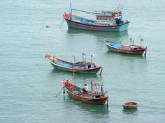 Nhatrang harbour, Vietnam