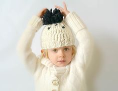 This toddler hat by Mama in a Stitch knits up fast with Wool-Ease Thick & Quick - one of our featured yarns this month! Make it with just 2 skeins and size 13 knitting needles. Save on all Wool-Ease yarns for a limited time! Chunky Knitting Patterns, Free Knitting, Knitting Needles, Hat Patterns, Knitting Ideas, Beginner Knitting, Knitting Projects, Sewing Projects, Crochet Patterns