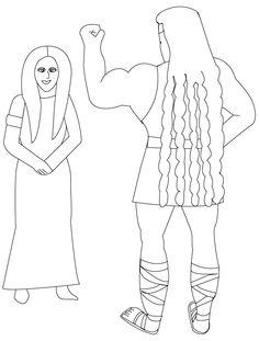 Delila knipt Simsons haar richteren 16  Samson  Pinterest