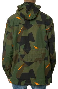 "7daystheory: "" RockSmith // The Geometry Anorak in Woodland """